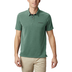 Columbia Nelson Point Polo Uomo, thyme green